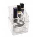 Organizador de cosméticos con caja en la base