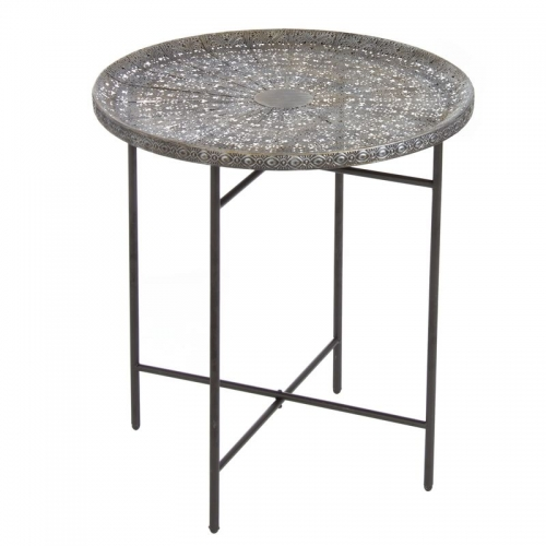 MESA MEDIANA METAL ARABESCA